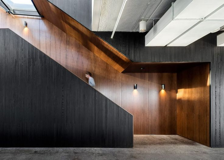 338 best images about interior stairs on pinterest for Office design dezeen