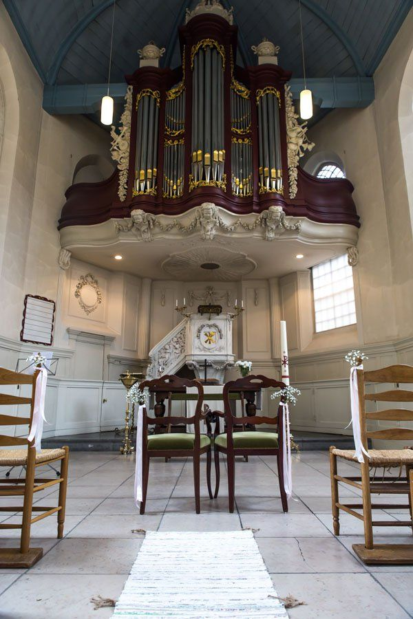 Trinitatis kapel Dordrecht bruiloft / wedding