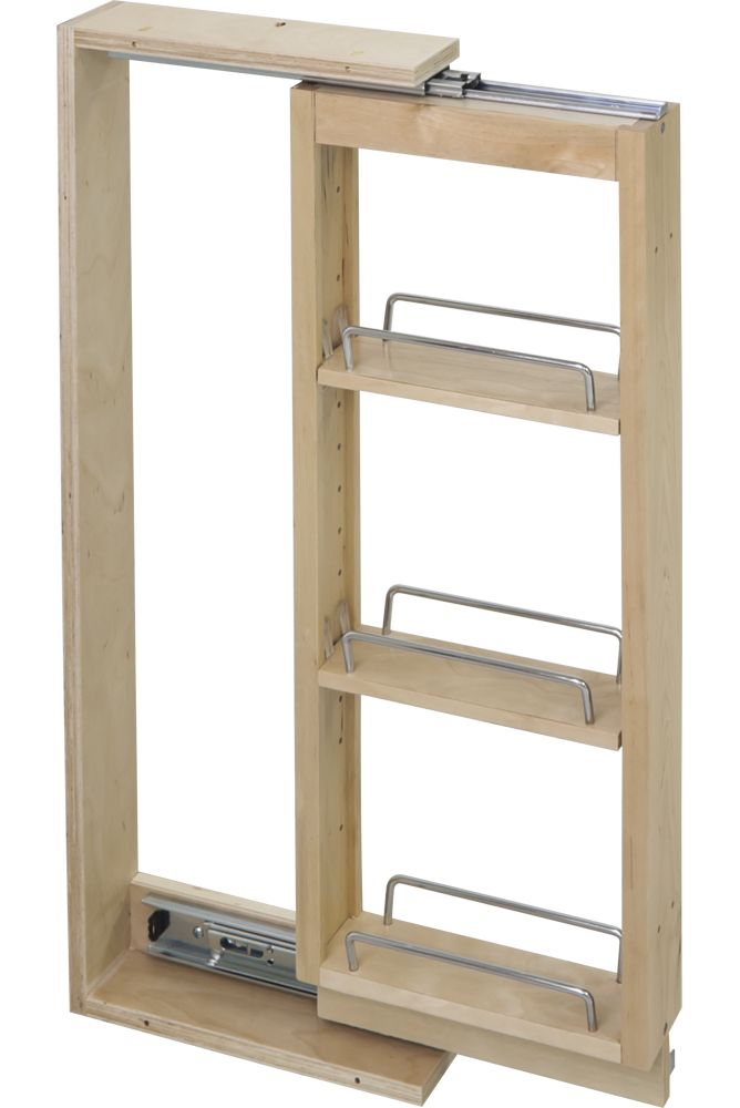 Get The Lowest Price on Hardware Resources WFPO330 Wall Cabinet Filler Pullout 3'' X 11-1/8'' X 30'' at Knobs.co. Free Shipping & Samples available.