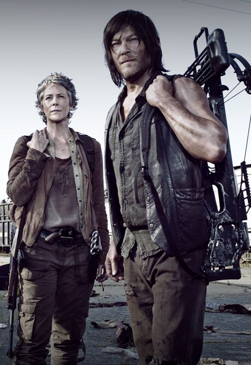 The Walking Dead - Daryl Dixon and Carol Peletier