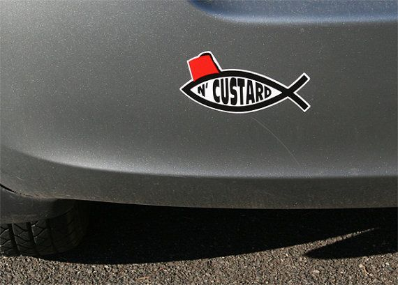 New Mouth, New Rules.: Custard, Cars Window Decals, Cars Decals, Doctors Who, Bumper Stickers, Dr. Who, Car Decals, Car Window Decals, Fish Fingers