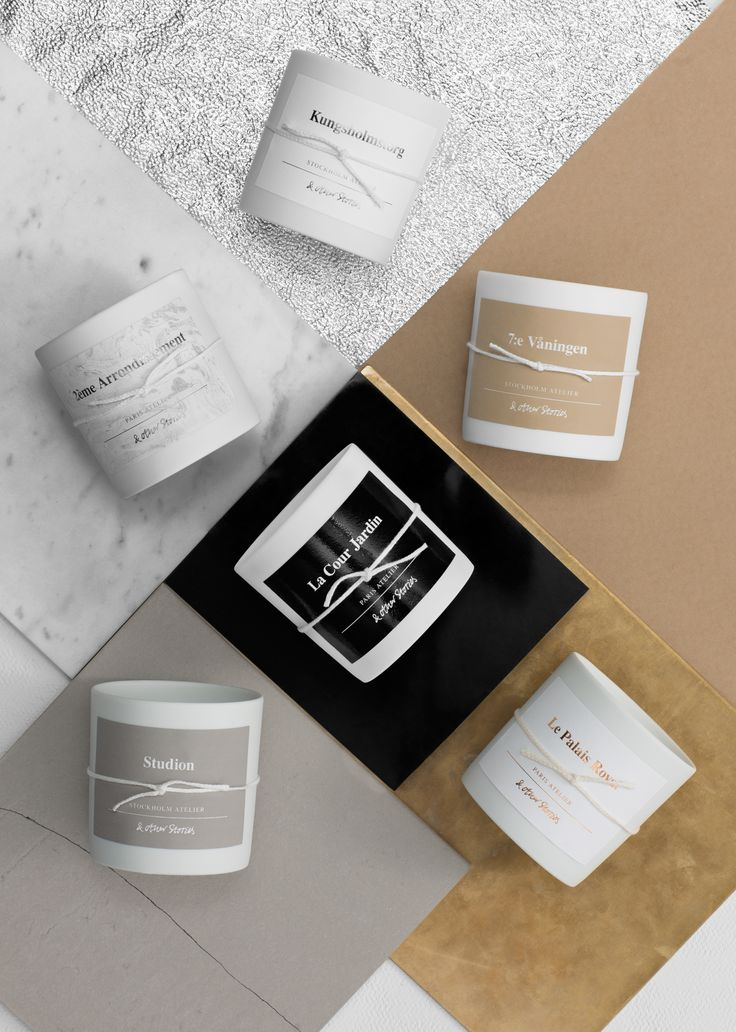 Two intriguing scents 'Le Palais Royal' and 'Kungsholmstorg' have joined our fragrant candle family.