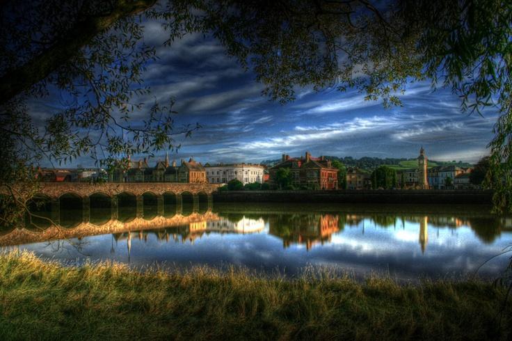 Image of Barnstaple, North Devon - never seen my home look so beautiful!