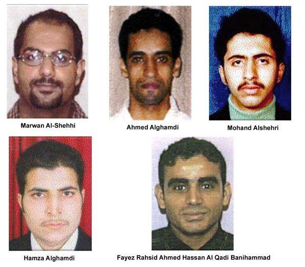 Killer Hijackers: 5 al-Qaeda hijackers. United Airlines Flight 175 (2001). Murdered approx. 960 people.