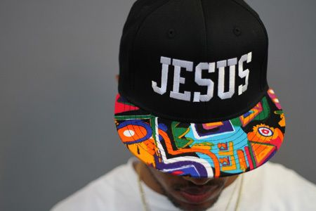 Jesus Snapback Hat.