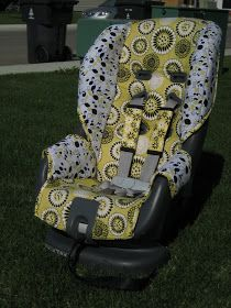 I'm so excited this post is being featured on Polly Want a Crafter , it's exciting to be among such talent.  Since I finished this car seat ...