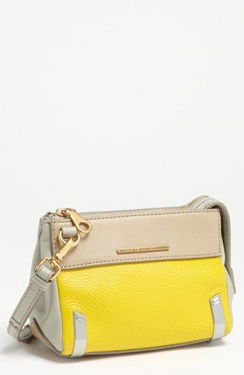 MARC BY MARC JACOBS 'Sheltered Island' Colorblock Leather Camera Bag available at #Nordstrom
