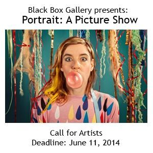 Portrait: A Picture Show - DEADLINE JUNE 11, 2014 - http://www.theartlist.com/art-calls/portrait-a-picture-show - Black Box Gallery will host a juried group photography exhibition on contemporary portrait photography. Pose and Gesture, Image and Identity, Constructed Narrative, Self Portrait, Environmental, Vernacular and Snapshot, Fashion and Nude, all have visual arguments to make in the world of portraiture photography.