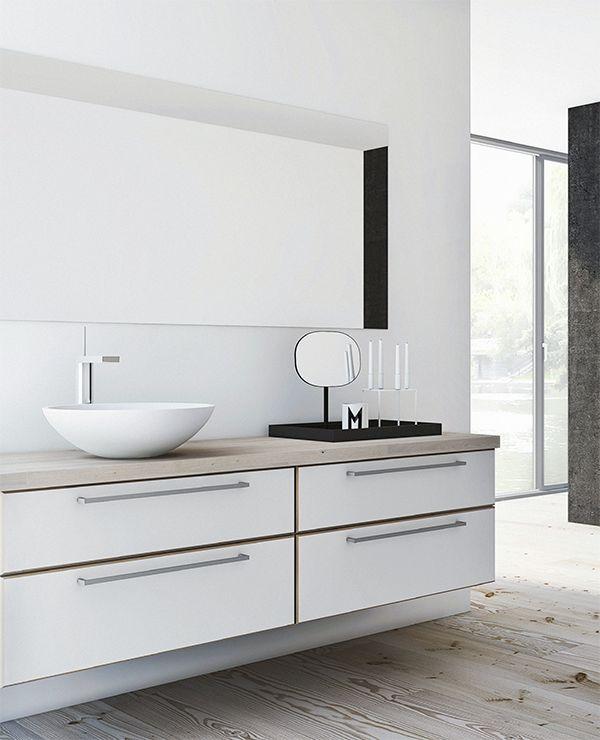 A white Danish kitchen | Dreamy 3d images