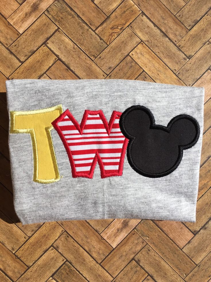 Mickey Mouse birthday shirt   A personal favorite from my Etsy shop https://www.etsy.com/listing/255003071/mickey-mouse-two-boy-birthday-shirt