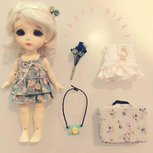 Tako's Diary.  まゆのコーデ日記! Photo diary - Hà Mi's outfit of the day!  #Tako #たこ #TakosDiary #たこの日記 #Doll #Toy #Miniature #ミニチュア #Rement #リーメント #Latidoll #LatiYellow #BJD #Korea #Korean #한국 #BallJointedDoll #私の旅物語 #MyTravelStory #Cute #Kawaii #かわいい #BúpBêKhớpCầu #SeHa #HàMi #まゆ #Handmade #手作り #OOTD #コーデ日記
