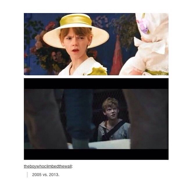 That is the only reason to why I see these movies... Thomas Brodie sangster