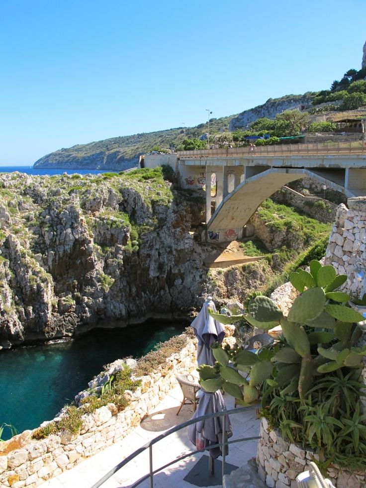Stopping along the Salento peninsula, near the town of Galiano del Capo - June '12