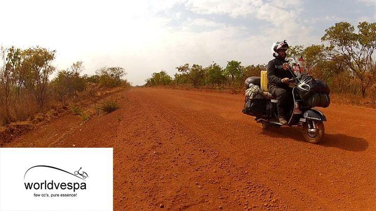 Burkina Faso - Around the world on a Vespa  #VespaClub Volos http://vespaclubvolos.com/