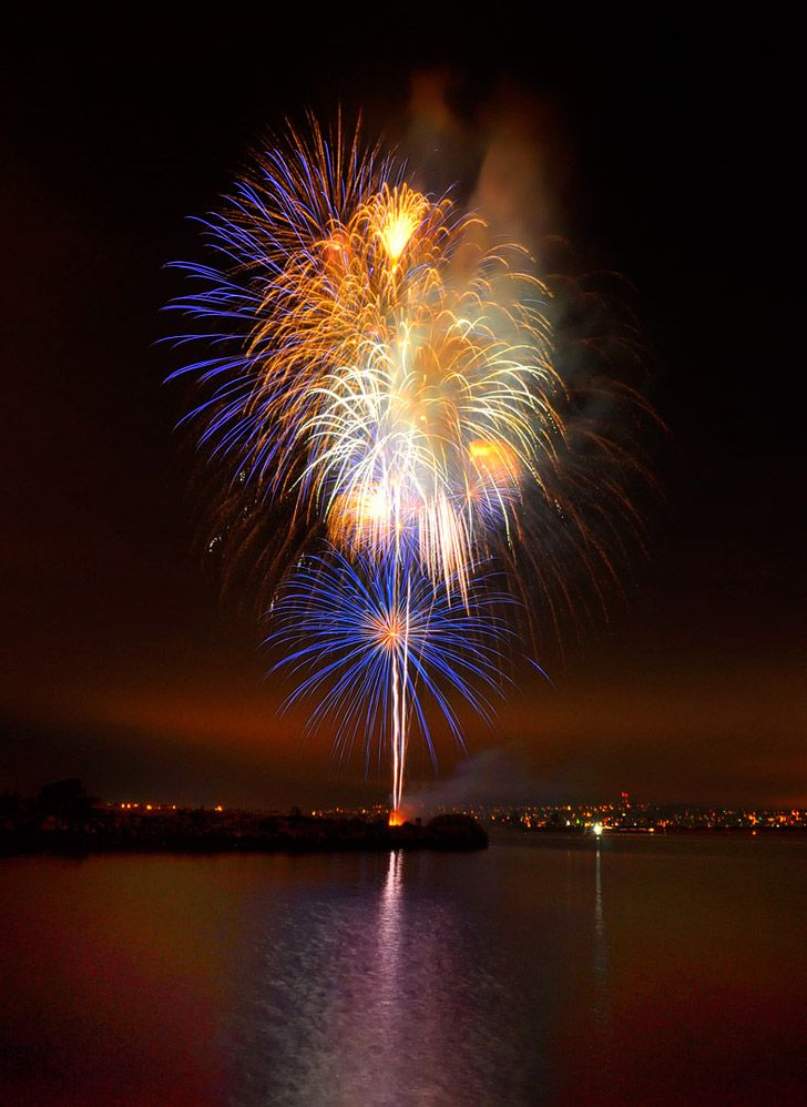 Watching the SeaWorld Fireworks in San Diego (25 Free Things to Do in San Diego).