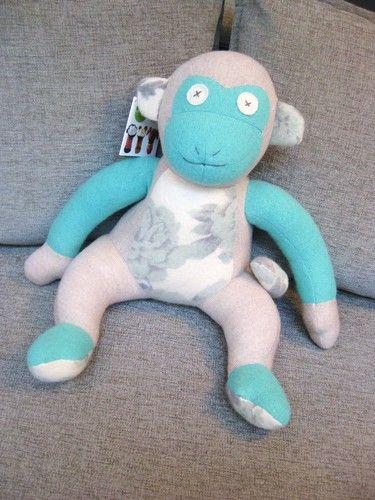 Handmade Stuffed Monkey @ Ma Zone