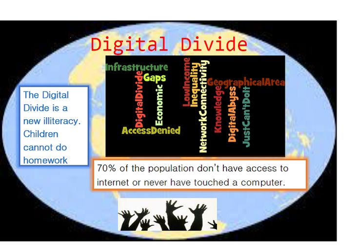 tech divide essay Us department of education reports on the digital divide:  a good collection  of essays on the ethics and use of technology is deborah g johnson.