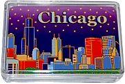 GreatPlacesToYou.com - Chicago Souvenir Skyline Playing Cards, $3.59 (http://www.greatplacestoyou.com/chicago-souvenir-skyline-playing-cards/)