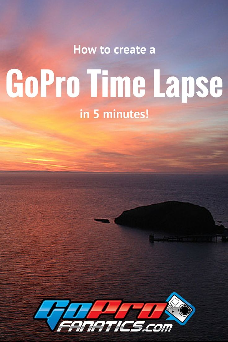 This is the EASIEST and QUICKEST way to create a time lapse video in GoPro Studio 2.0.