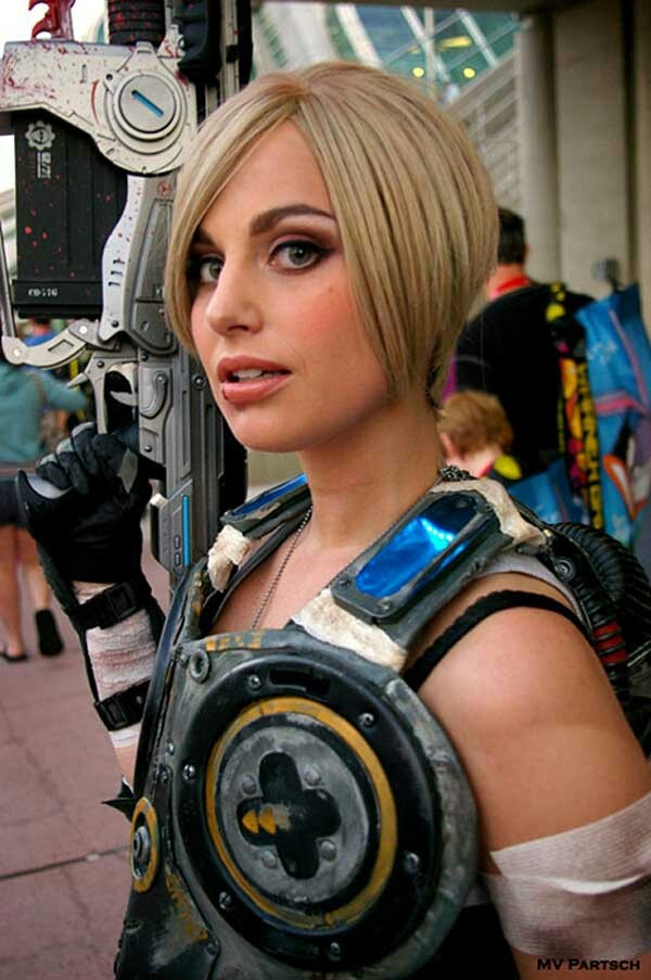 Sexy Anya Stroud Cosplay From Gears Of War Cosplay