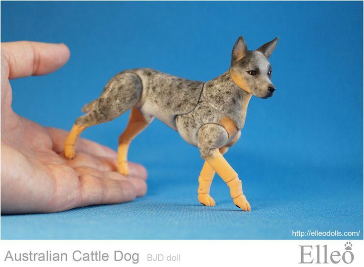 Perro australiano del ganado Bjd 06 por leo3dmodels