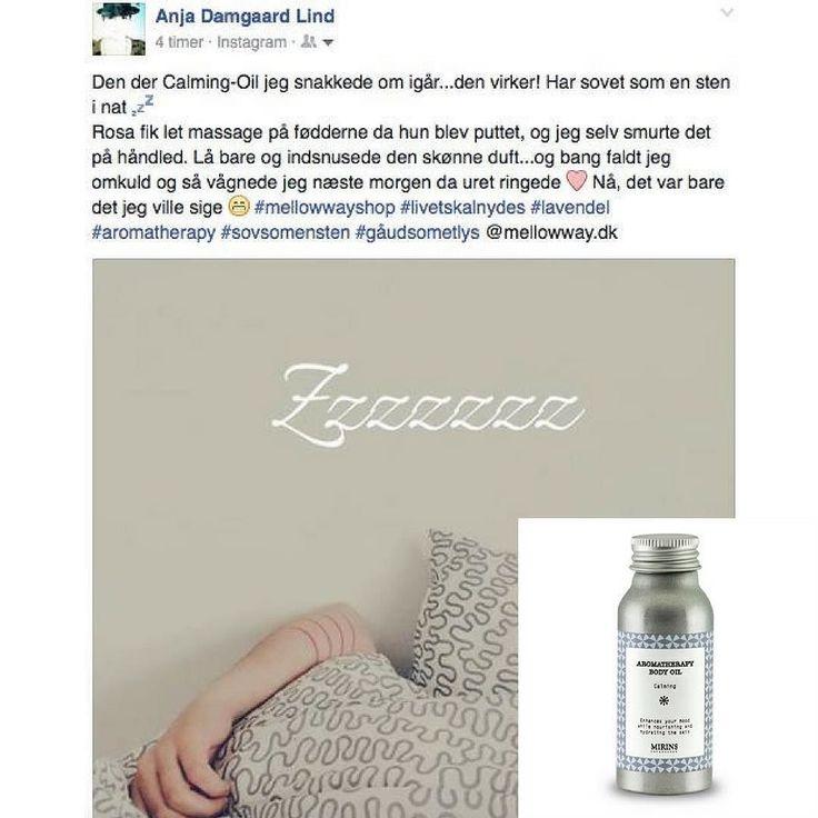 """Søde Anja fra @socialmediabyheart og hendes datter har prøvet aromaterapi. Tusind tak for anmeldelsen af """"Soveolien"""" Calming og alle 5 Jeg bilver SÅ glad for sådan en fin tilbagemelding  Vil du også prøve olien så finder du link i profilen  #webshop #mellowwayblog #aromaterapi #æteriskeolier #friforkemi #soveolie #calming #kropsolie #massageolie #lavendel #bergamot #stressfri #stress #naturmedicin #søvnproblemer #sovgodt #anmeldelse #5stjerner"""