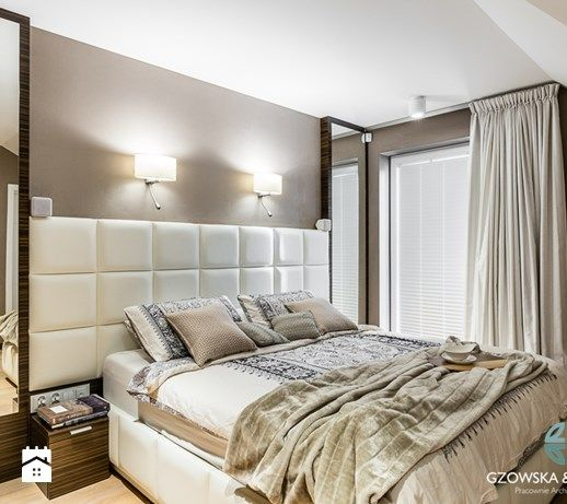 Sypialnia, styl nowoczesny - zdjęcie od Gzowska&Ossowska