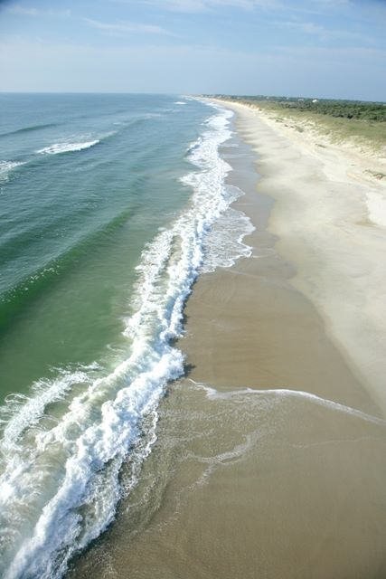 Fun Fact: Did you know there are 14 miles of beach here on Bald Head Island? That's a lot of shoreline for shell seekers, boogie boarders and anglers alike. Bonus points to anyone who can name our three beaches.