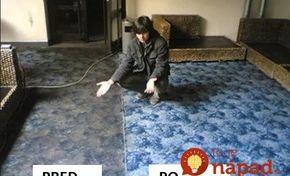 Na starý koberec na chalupe nezabral ocot, ani jedlá sóda: Tento recept mi poradila svokra a fungoval okamžite, koberec žiari čistotou ako nový!