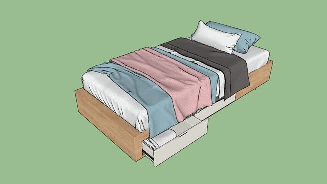 bed - 3D Warehouse