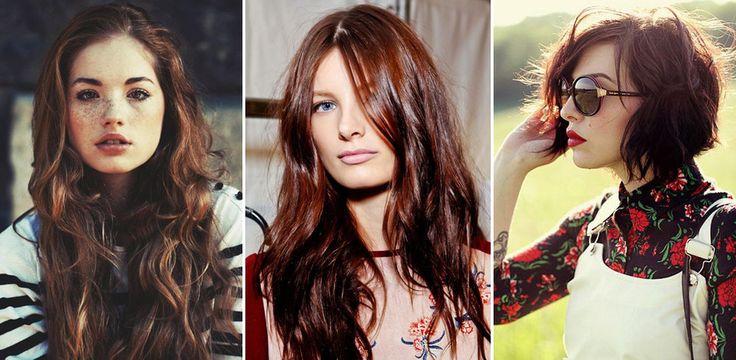 Broux czerwony brąz HIT w koloryzacji włosów 2015/2016