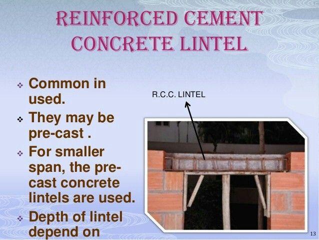C Lintel Design