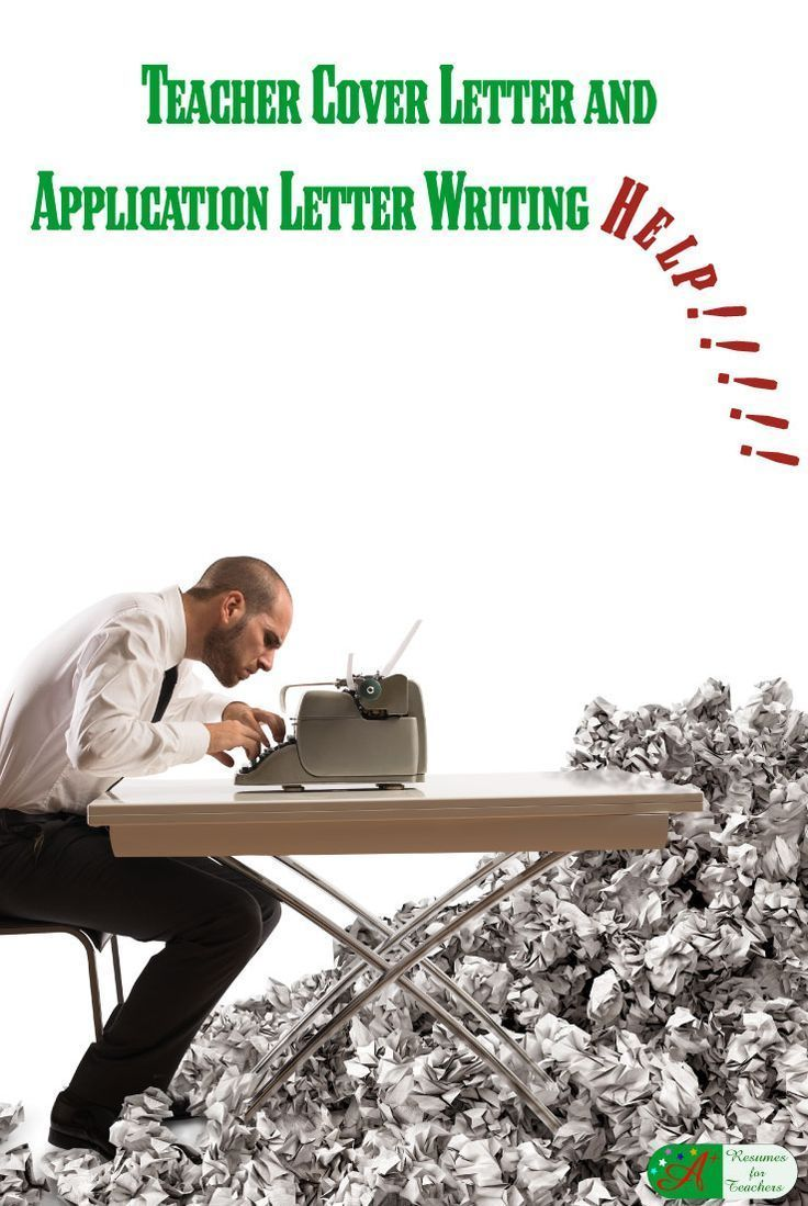 Teacher Cover Letter and Application Letter Writing