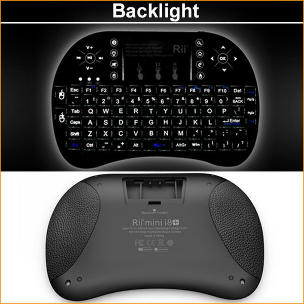 New-Backlight-English-Rii-i8-Wireless-Gaming-Keyboard-2-4G-multitouch-Touchpad-Mini-Fly-Air