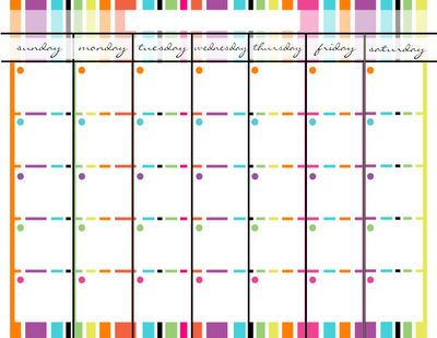 17 Best images about template on Pinterest   Calendar, Time ...