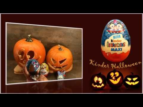 Halloween giant suprise eggs unboxing
