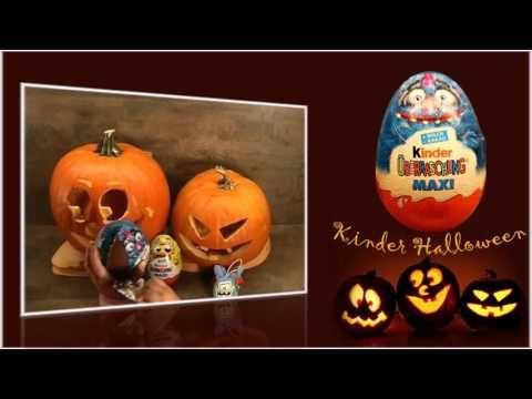 Halloween giant suprise eggs unboxing