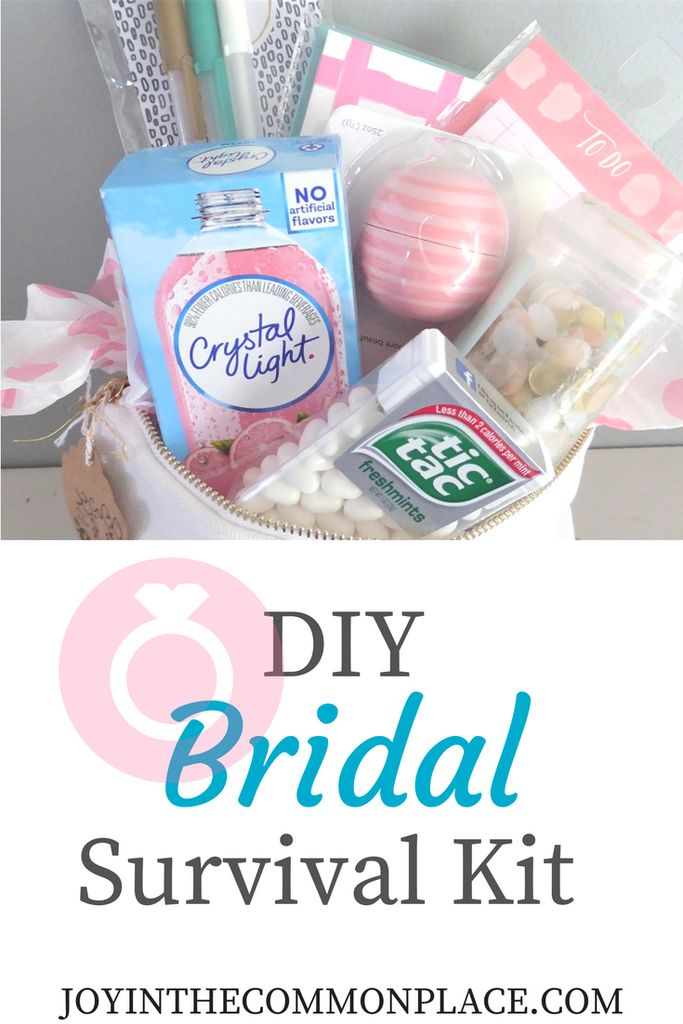 Create A Diy Bridal Survival Kit