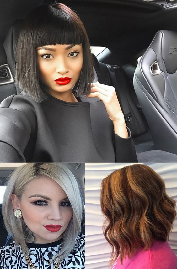 Best a-line bob hairstyles for 2017, inspiration and photos for women.