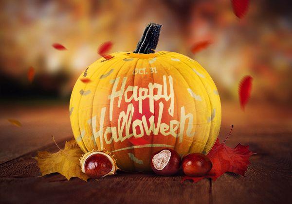 Halloweenbilder kuerbis