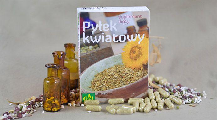 PYŁEK KWIATOWY W KAPSUŁKACH // Zawiera witaminy, makro- i mikroelementy oraz inne cenne substancje. Pobudza apetyt i poprawia przemianę materii. Polepsza przyswajanie żelaza i korzystnie wpływa na wątrobę. Poprawia kondycję, odporność i samopoczucie. Zalecany w stanach wyczerpania i osłabienia.  http://www.gal.com.pl/produkty/suplementy-diety/pylek-kwiatowy-kapsulki.html