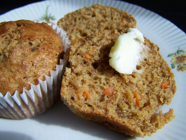 http://www.food.com/recipe/carrot-cake-muffins-with-carrot-and-cauliflower-360321