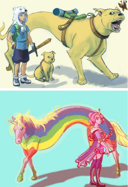 Adventure time finn and princess bubblegum fan art