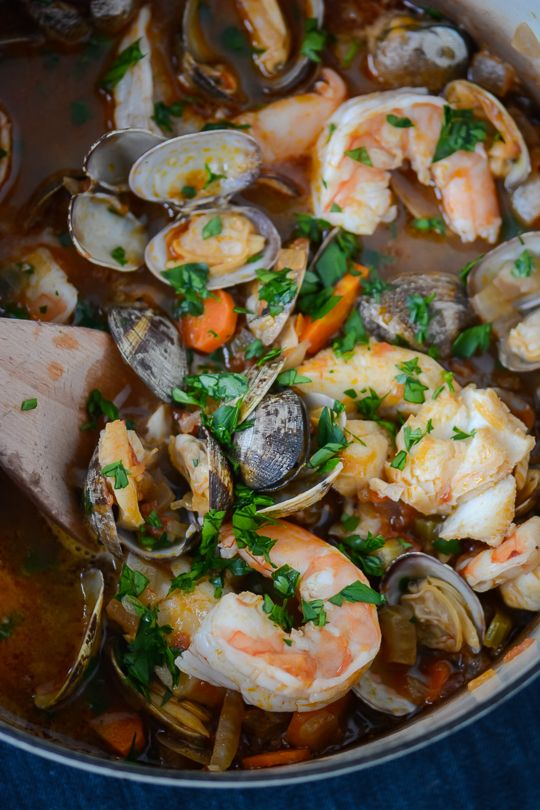 30 minute seafood stew recipe seafood stew and stew for Crock pot fish stew