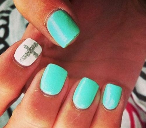 25+ Best Ideas About Cross Nail Designs On Pinterest