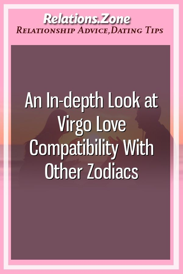 Who is virgo compatible with in a relationship