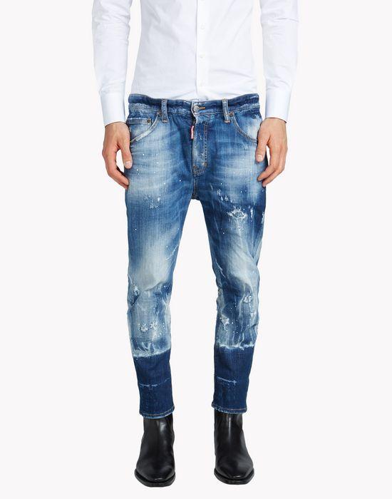 dan elastic waist jeans denim Man Dsquared2