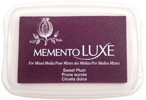 Memento Luxe SWEET PLUM Ink Pad Tsukineko ML-506