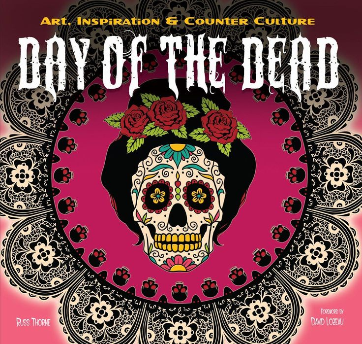 Day of the dead book sugar skull