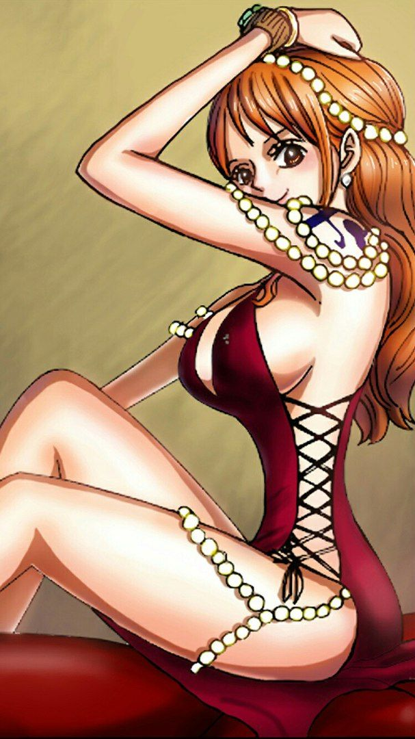 One piece nami hentai sexy